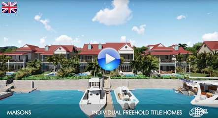 Eden Island Maisons Video