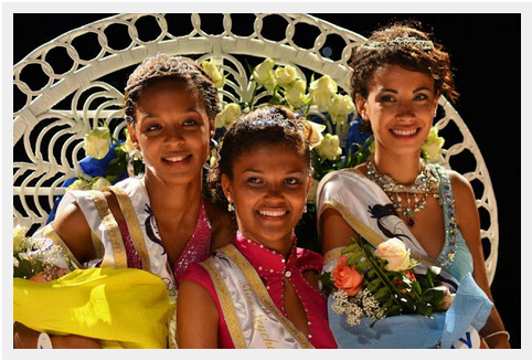Agnes Gerry is Crowned Miss Seychelles
