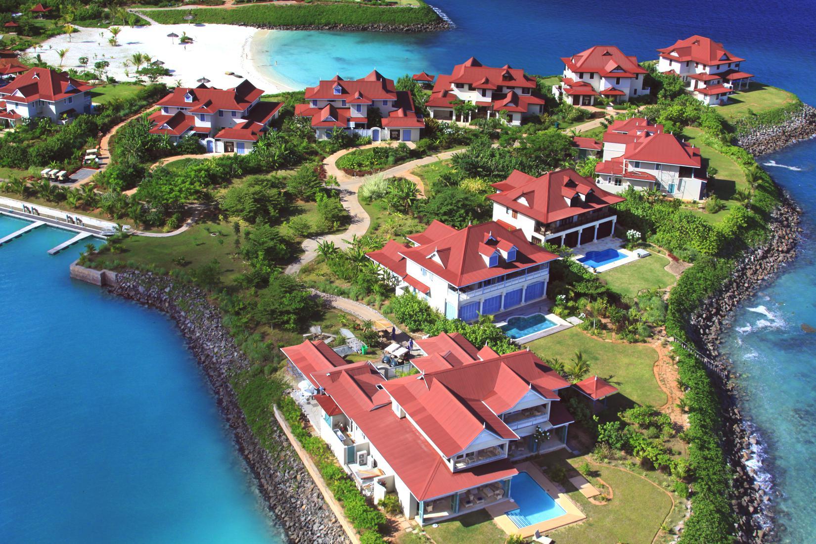 Gallery of luxurious villas in seychelles eden island properties - Eden island seychelles ...